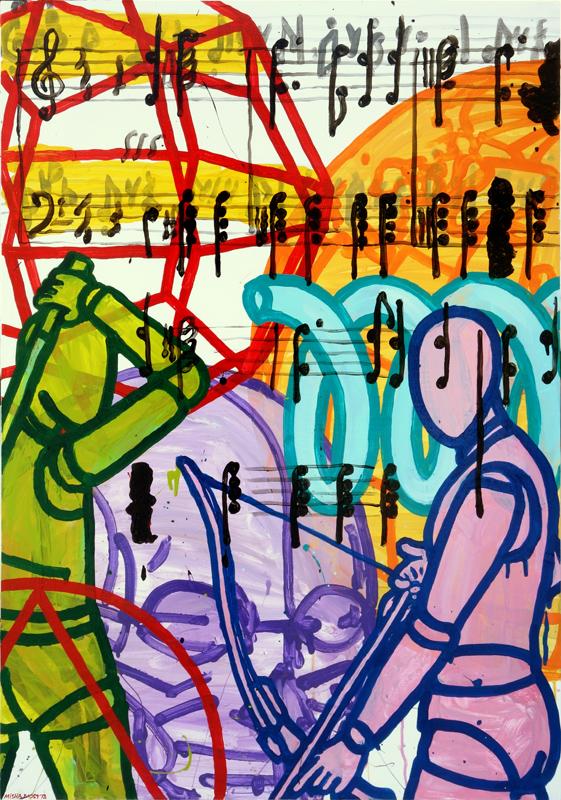 100x70sm, canvas '18