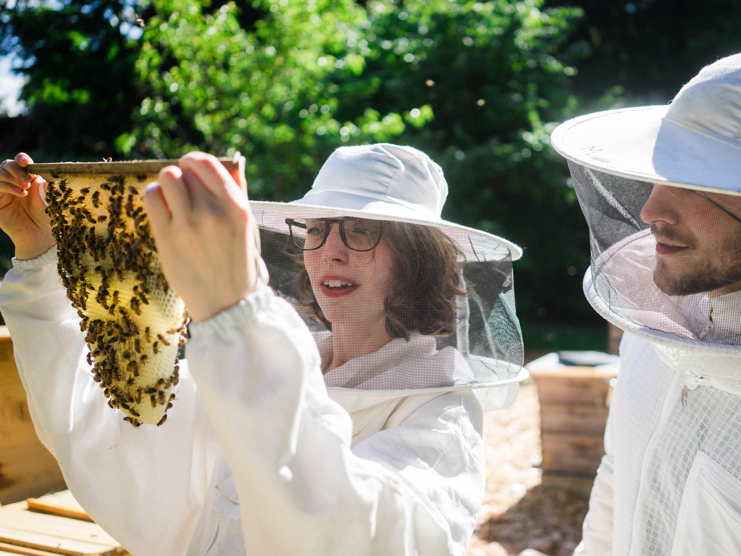 FABQs: Do I Have to Wear a Bee Suit? - by Bee & Bloom