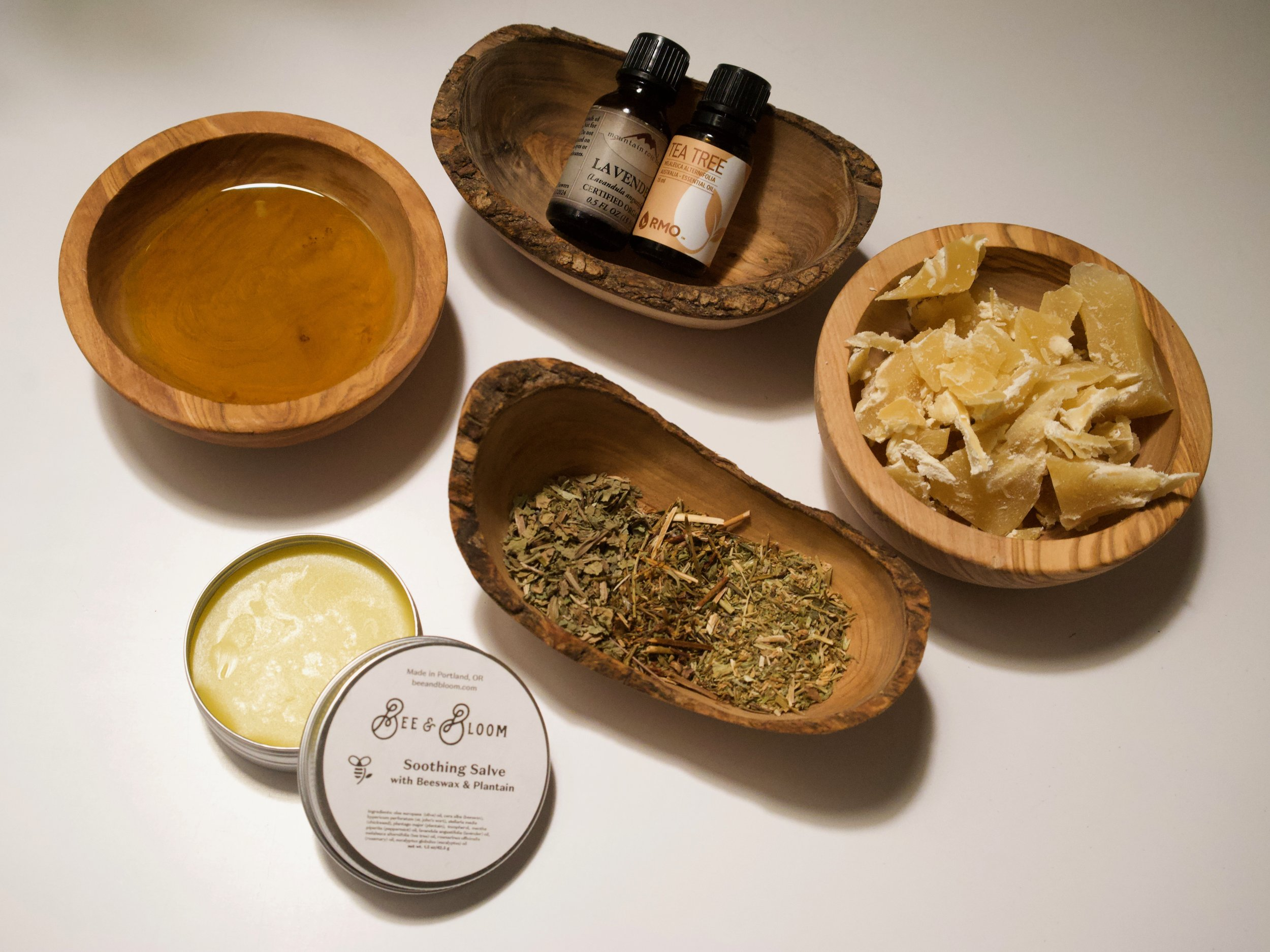 Soothing Herbal Salve: Make Your Sad Skin Happy! - by Bee & Bloom