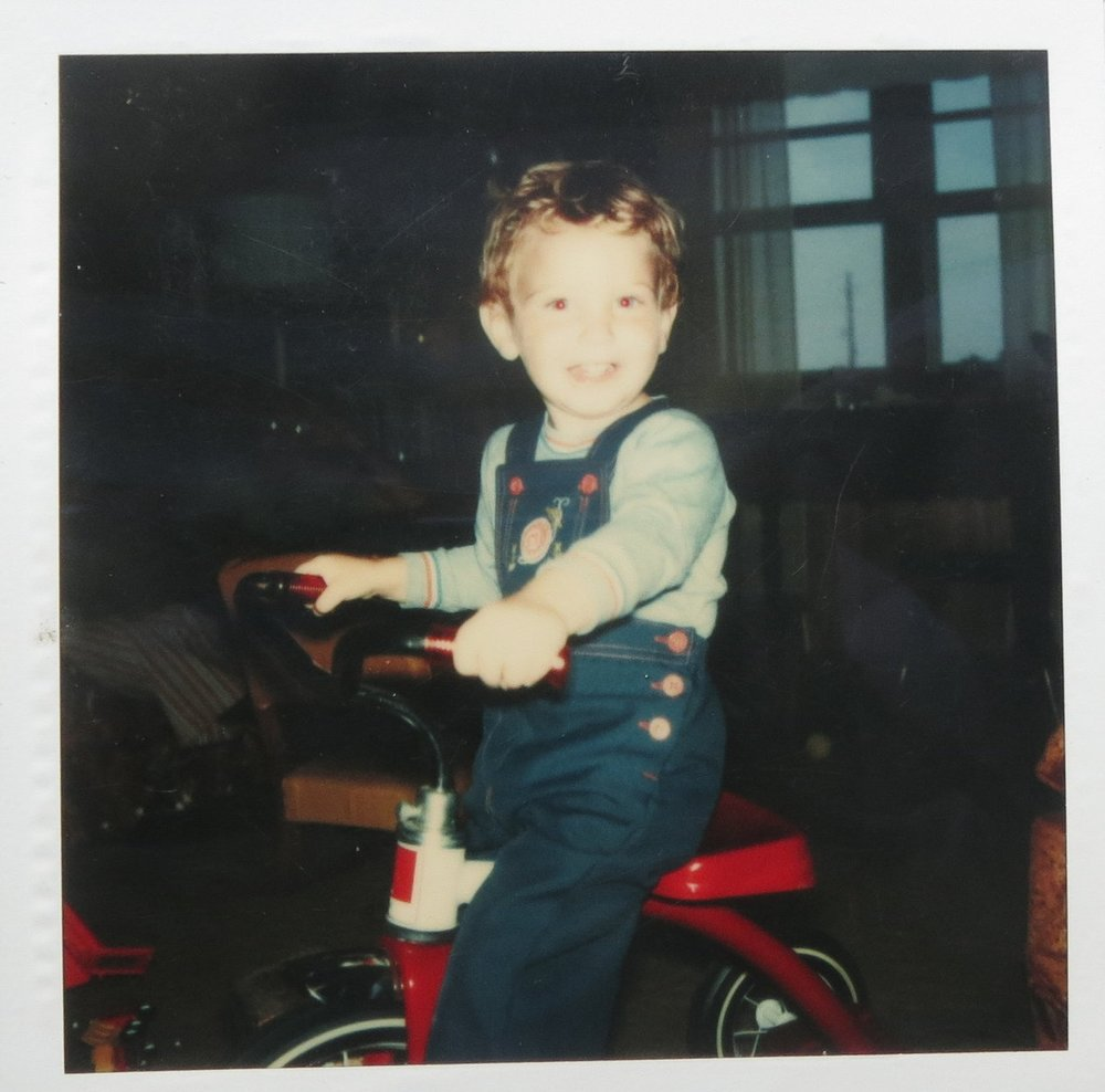 Stephen has been riding tricycles since the day he turned 2 years old.