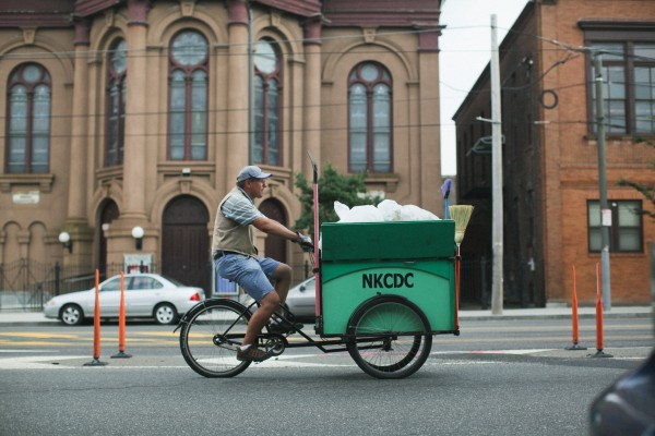 NKCDC trash collection trike