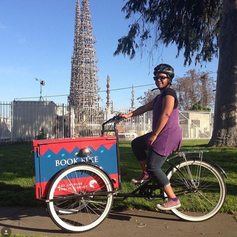 LAPL Book Bike