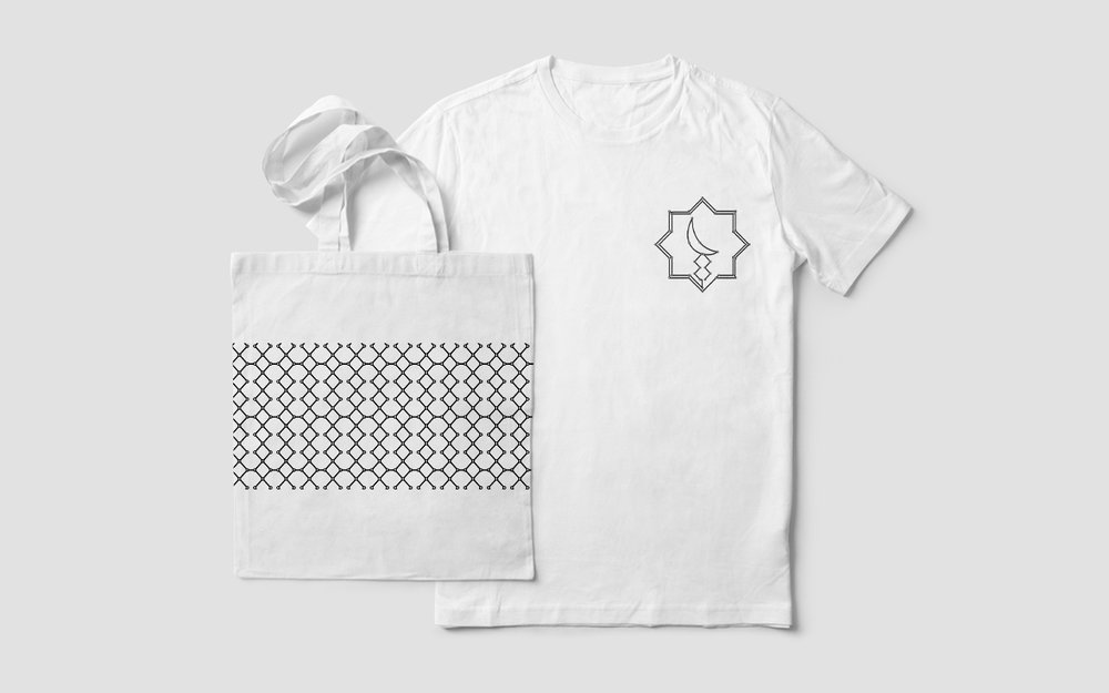 Tote Bag and T–Shirts for Volunteers
