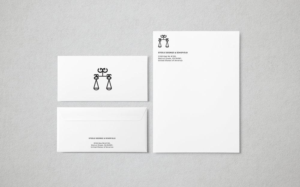 Brand Behaviour – Letterhead and Envelope set