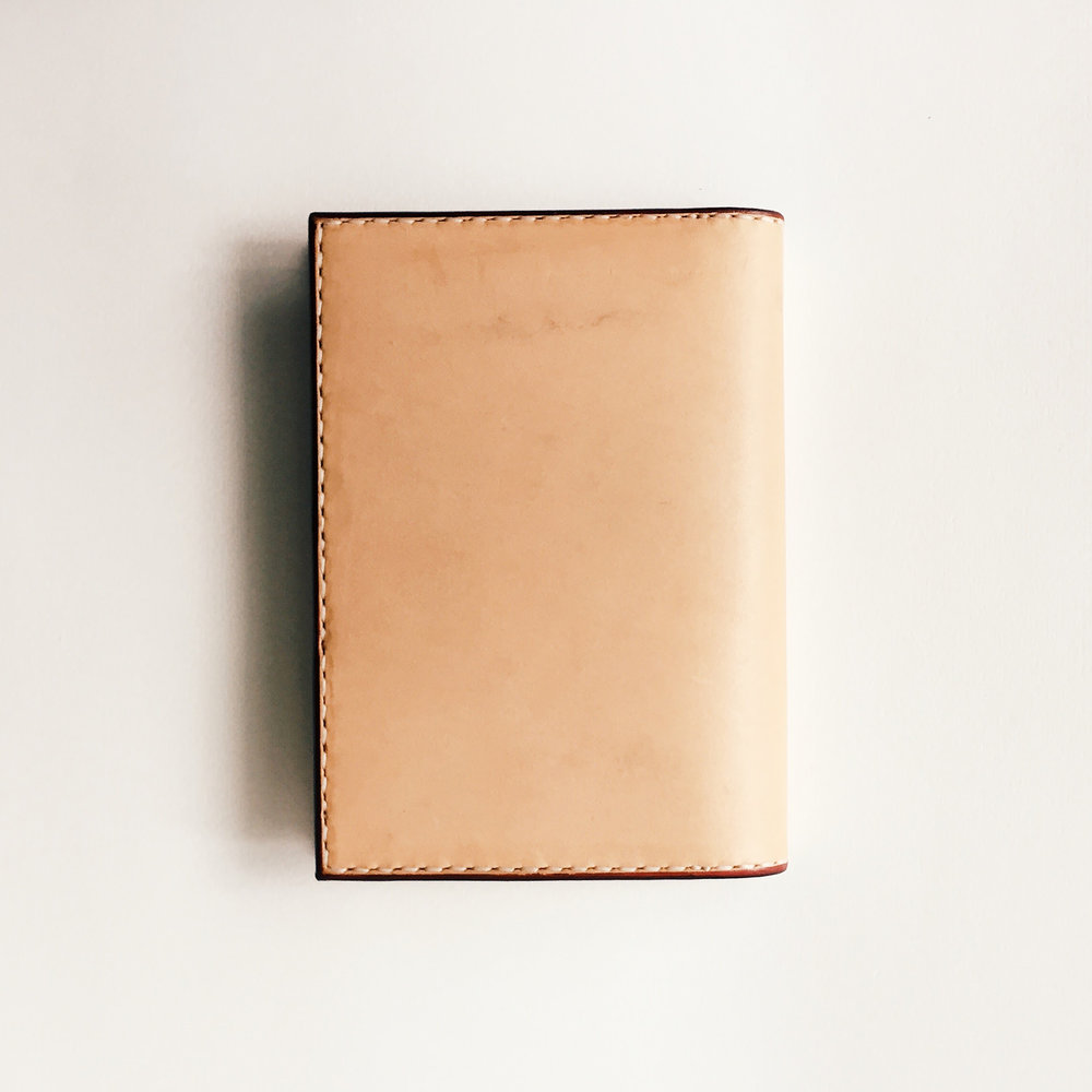A6–Sized Notebook / Passport Cover   Back