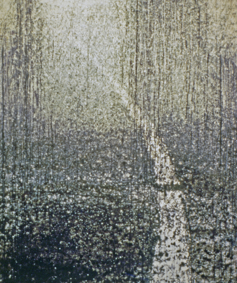 Untitled Rain Painting, 1984