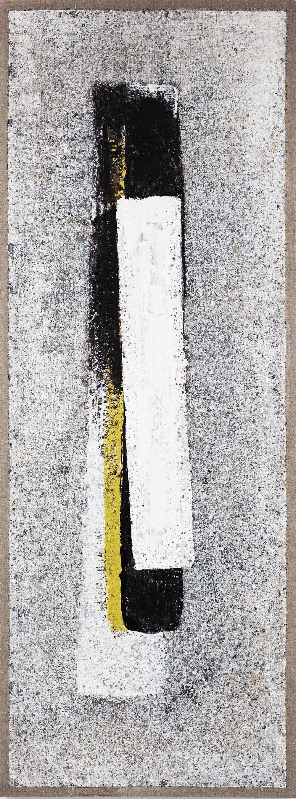 """Milarepa"" 80 x 30 inches, 2010"
