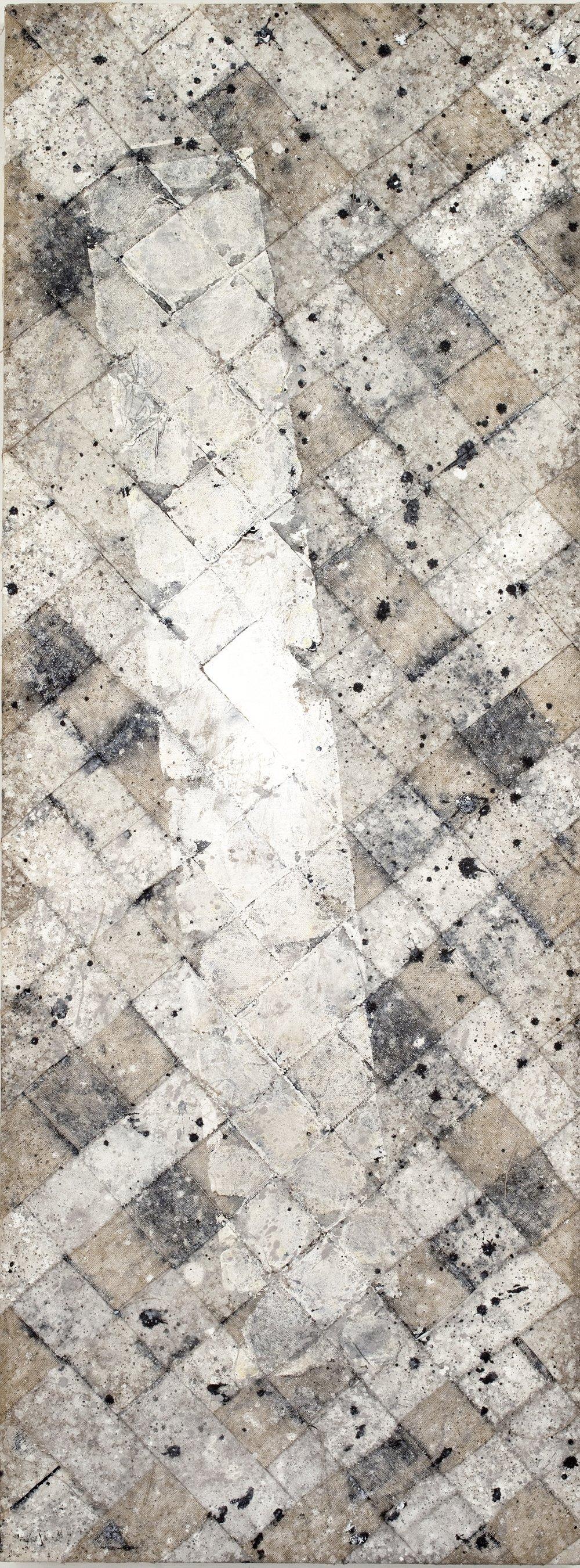 """""""Padmasambhava"""" 80 x 30 inches, 2012"""