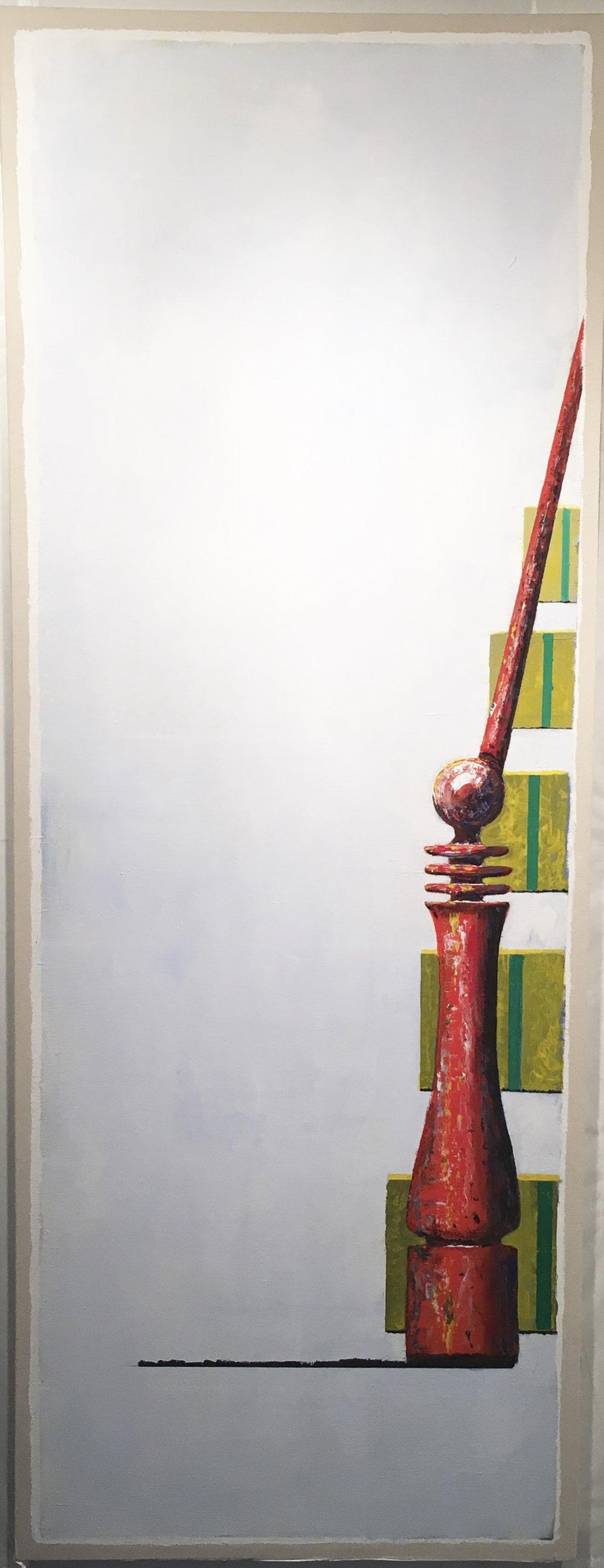 """""""Shiva"""", 80 x 30 inches, 2018"""