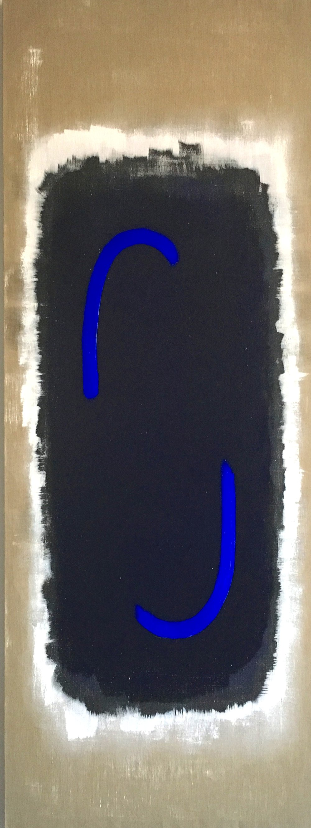 Blessed Virgin Mary, 2017, 80 x 30 inches