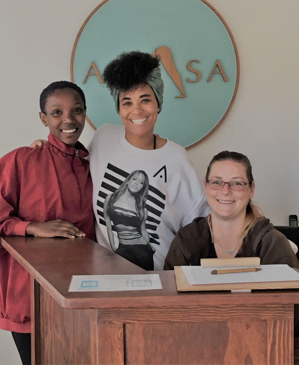 some of our beautiful work traders-Ife Jasmine and Elise.jpg