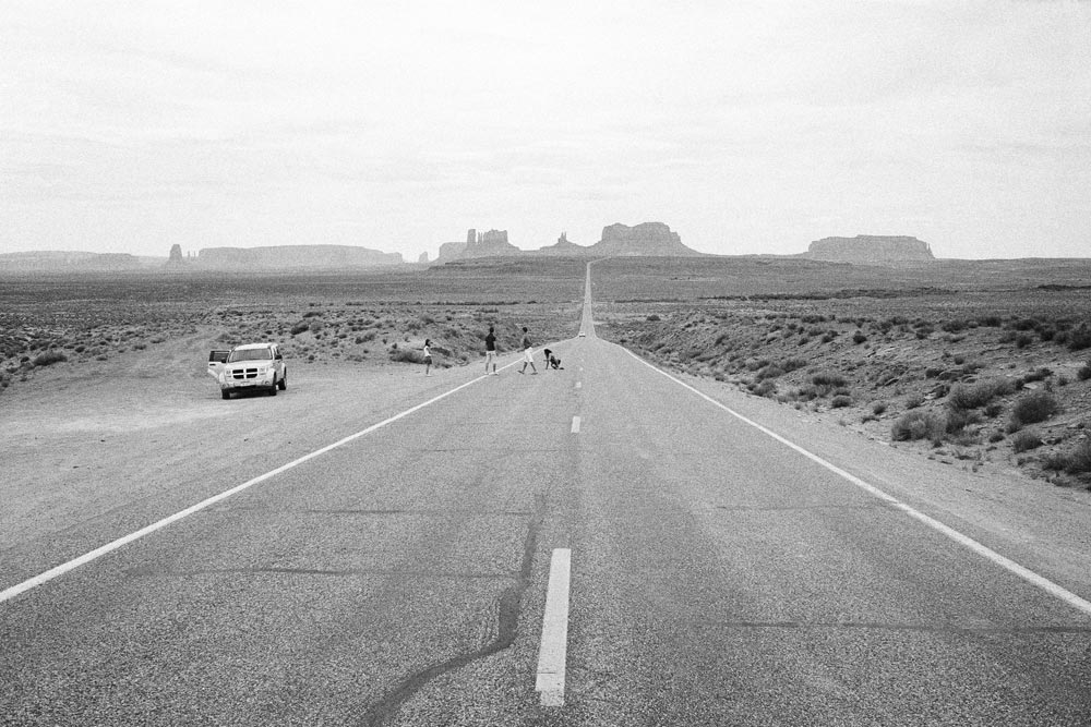 Monument Valley, Navajo Nation 2009 I guess Sal Paradise travelled through a lot of country like this, here on the Utah/Arizona border, on his way to the promised land of the West. A thought for the new breed of travellers west. Hope all is going well David and Al, as you seek all that the new gleaming West has to offer. D&A are on the road west not along the legendary Route 66 of Kerouac, but in Australia, the new frontier of economic growth in this country, tonight staying at Cocklebiddy on the Nullarbor Plain, probably in a hotel much like the one described below. It is interesting to think that the more things change, the more they stay the same. The west, rightly or wrongly, is still seen as the Future.