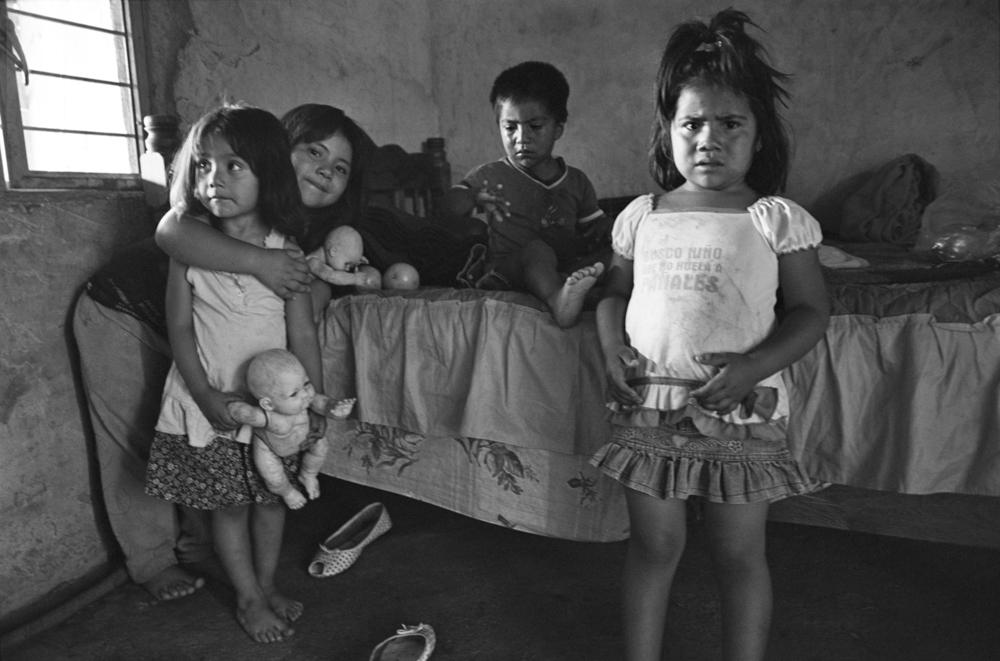 The wonderful Morales-Sanchez children in Oaxaca.