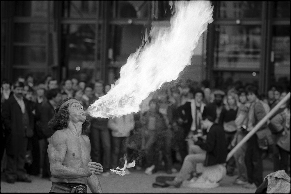 centre georges pompidou, paris 1980