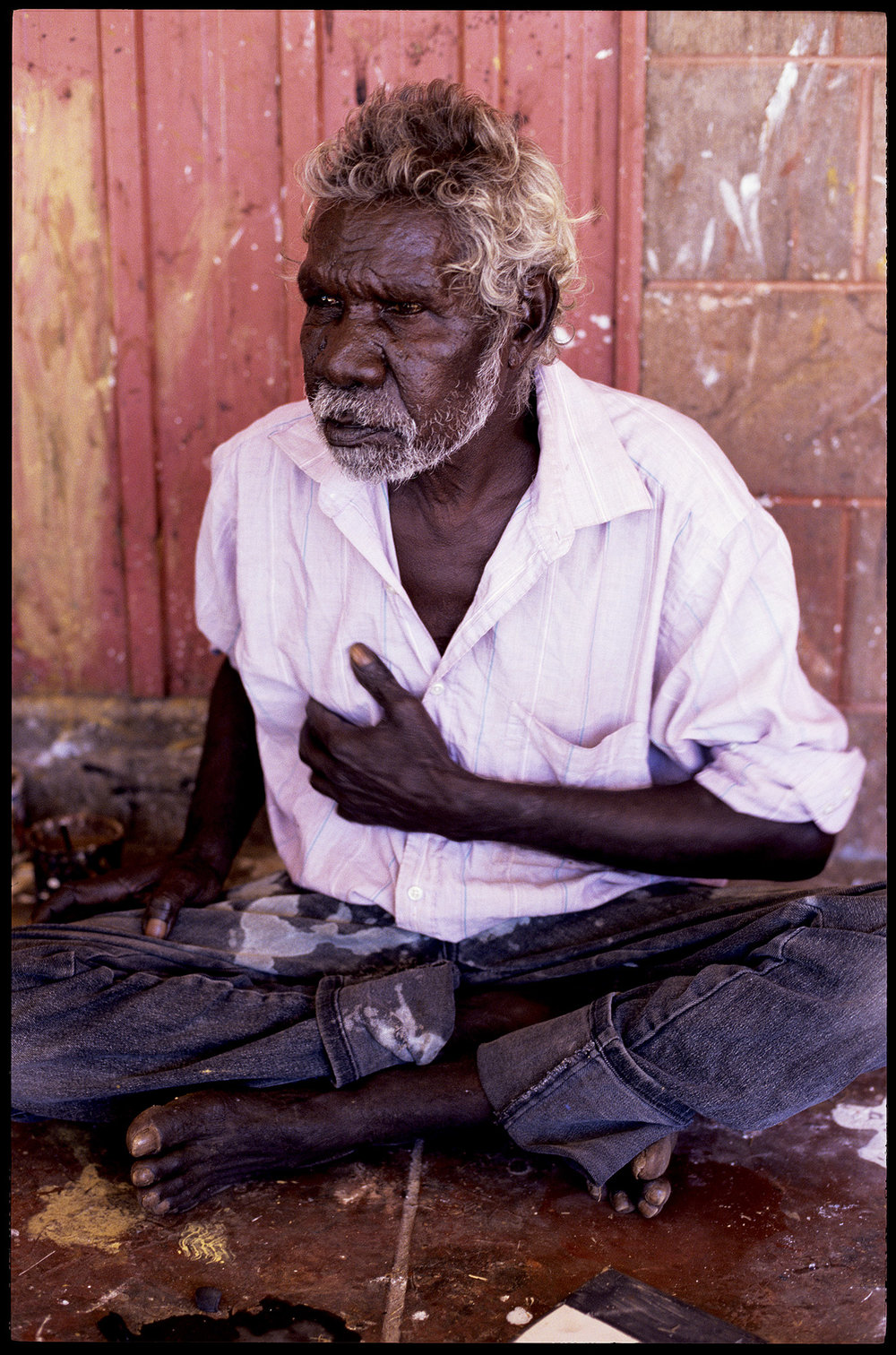 Bardayal 'Lofty' Nadjamerrek, Gunbalanya [Oenpelli], 1997