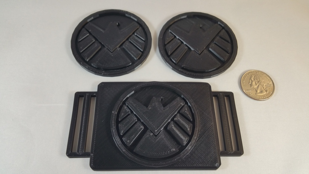 SHIELD Buckle and Badges for Hawkeye