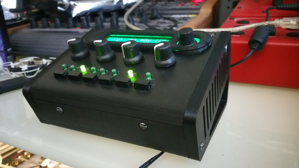 Synthesizer Enclosure