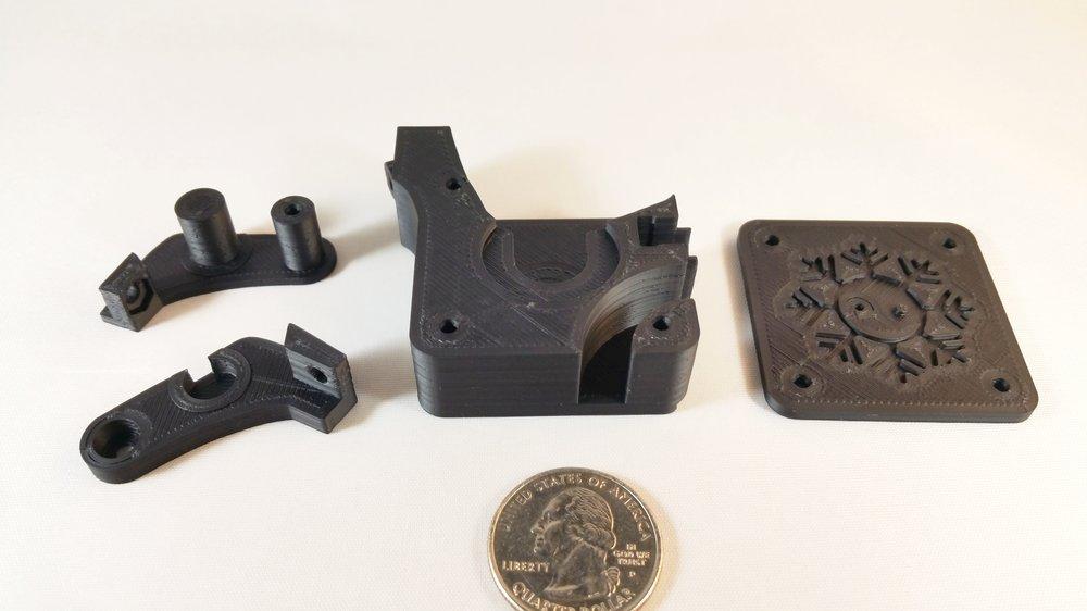 3D Printer Extruder Assembly