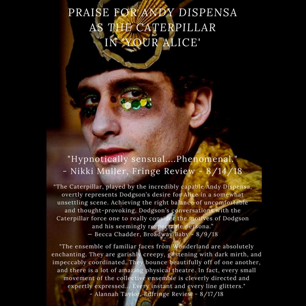 Edinburgh Fringe Praise