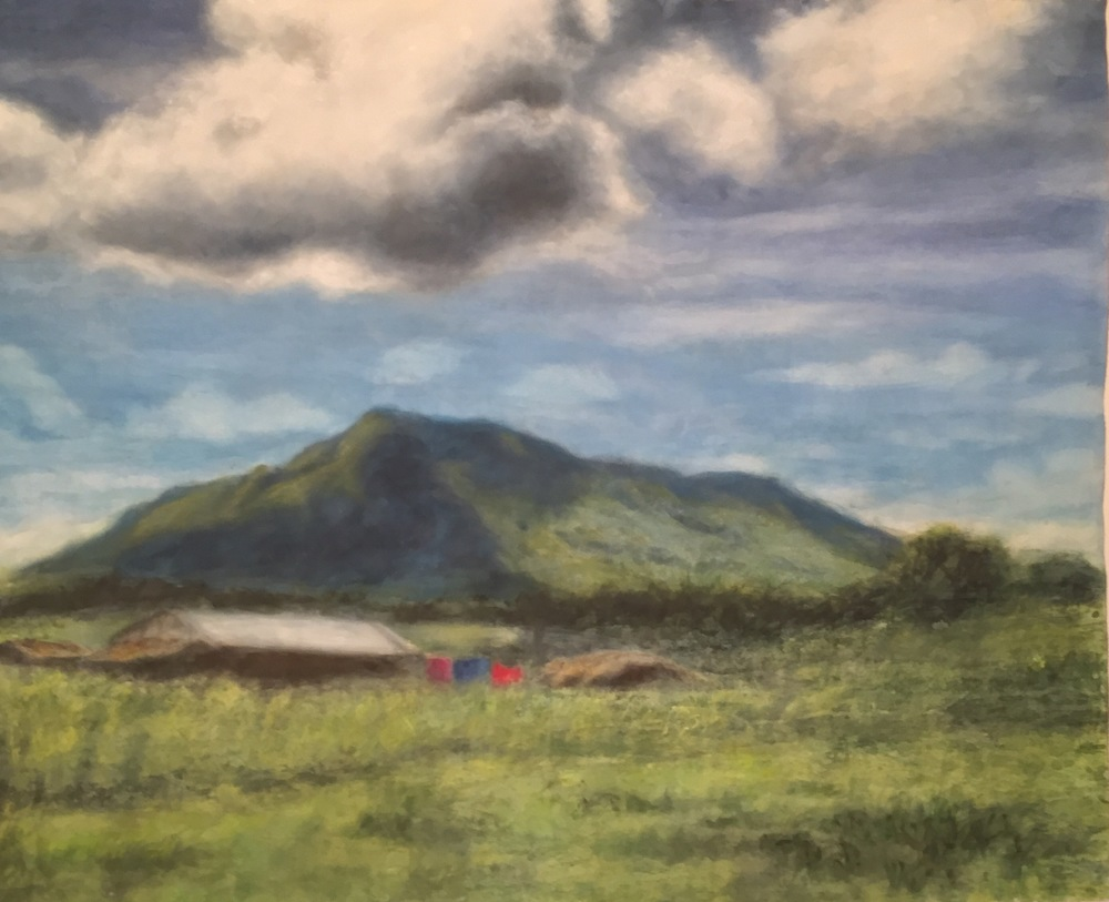 Mt. Mulanji • 44 x 55.5