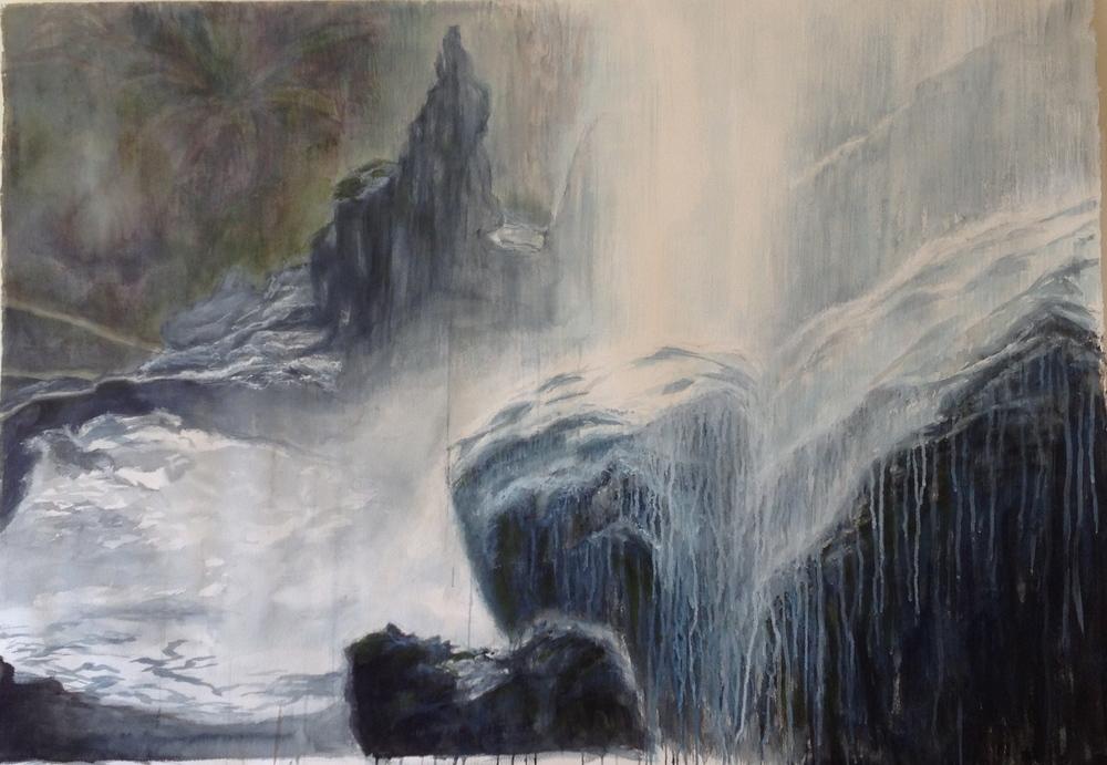 Sipi Falls, Uganda II • 37 x 51.5