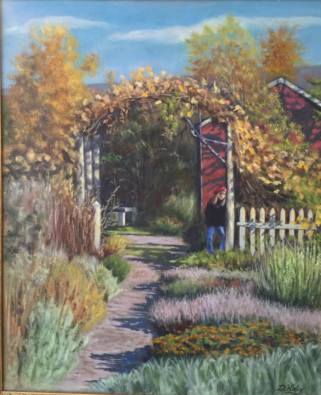Always Autumn • 16 x 20 • oil on canvas