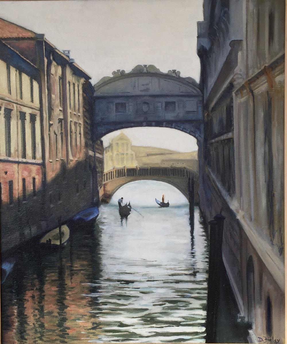 Bridge of Sighs • 20 x 24 • oil on canvas