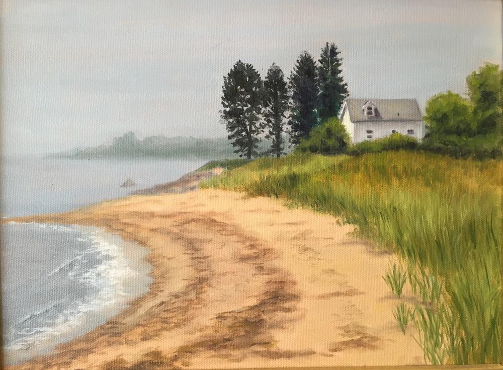 Edge Lea East • 9 x 12 • oil on canvas