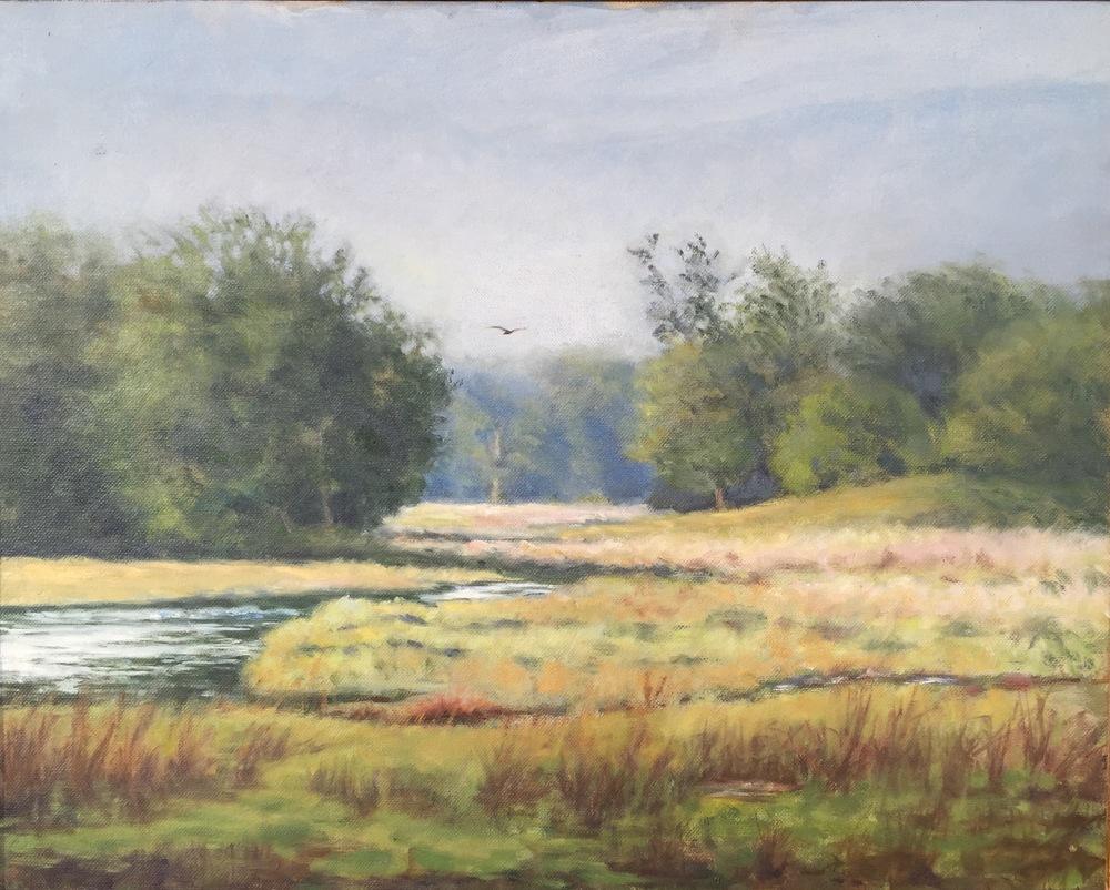 Flight • 16 x 20 • oil on canvas