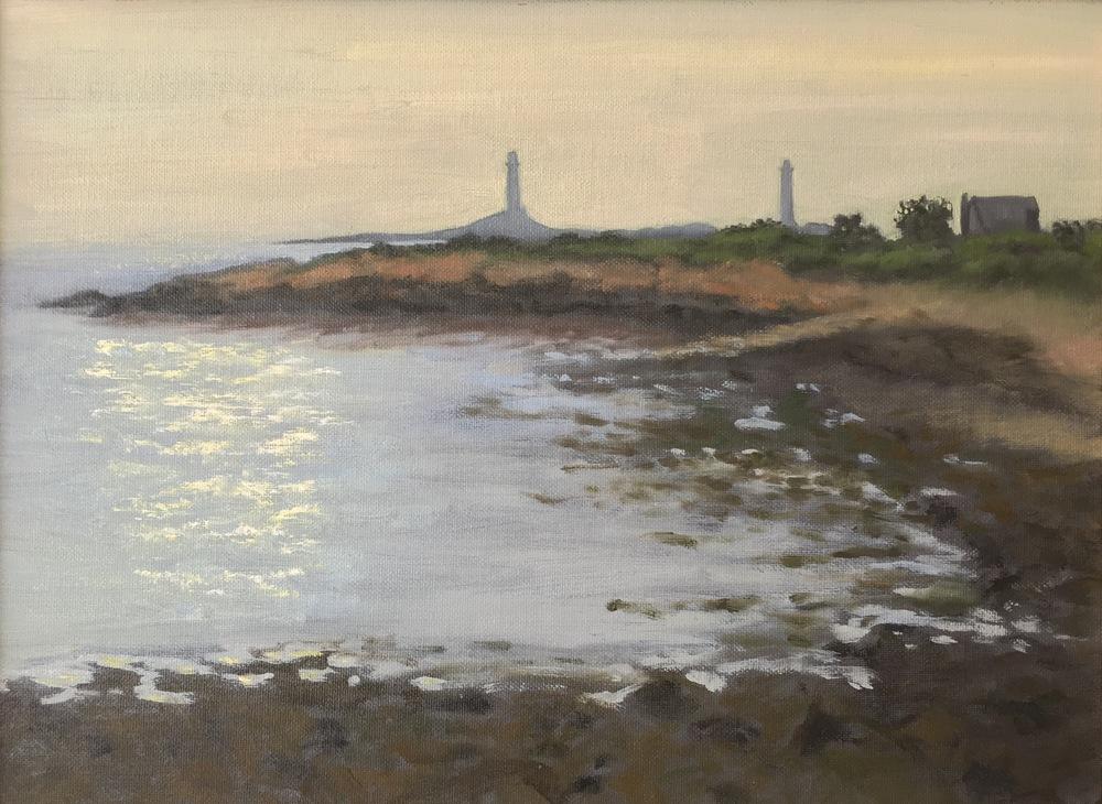 Loblolly Cove • 12 x 16 • oil on canvas