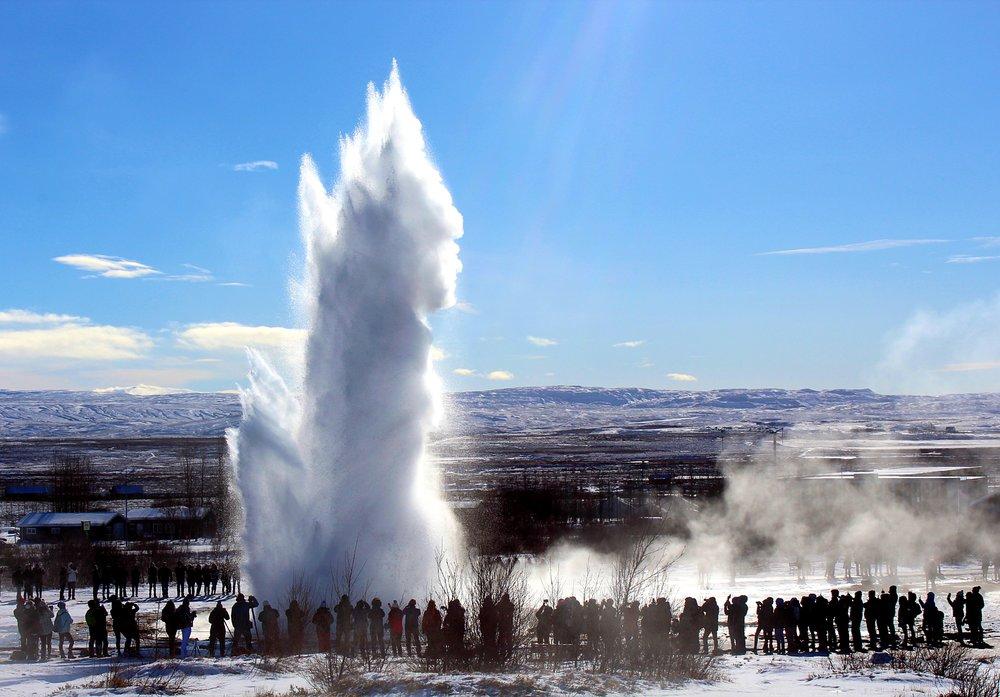 Geysir: The Icelandic geothermal field