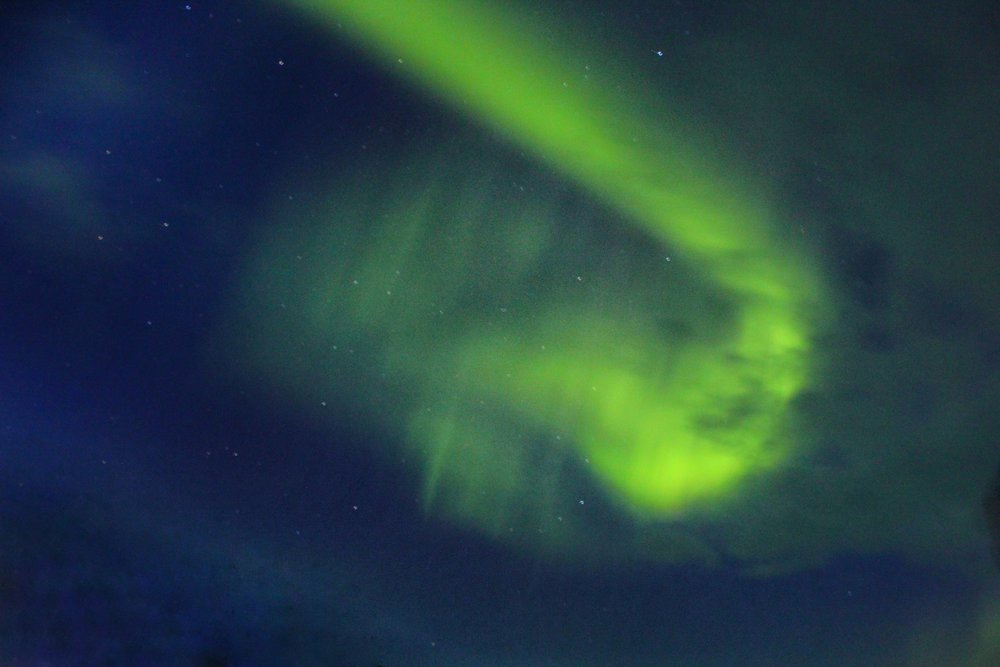 The best months to see the Northern Lights are between October-April