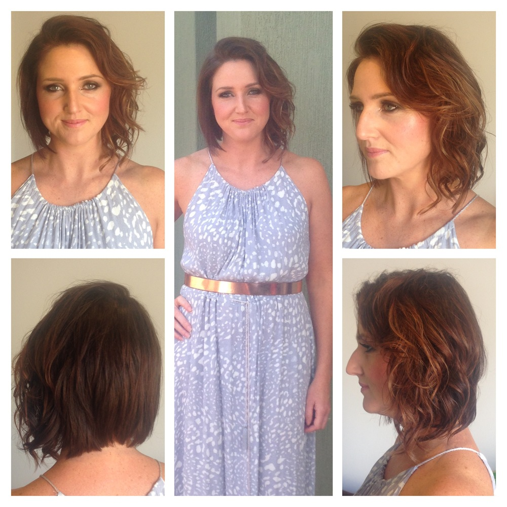Cut, Colour, Style and Makeup for Sylvia