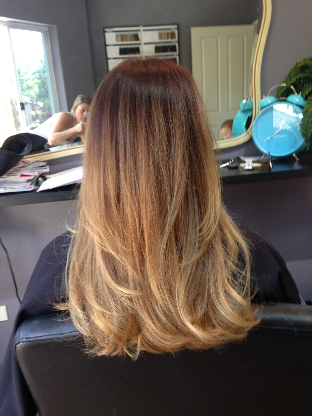 Soft Balayage and cut for Carly