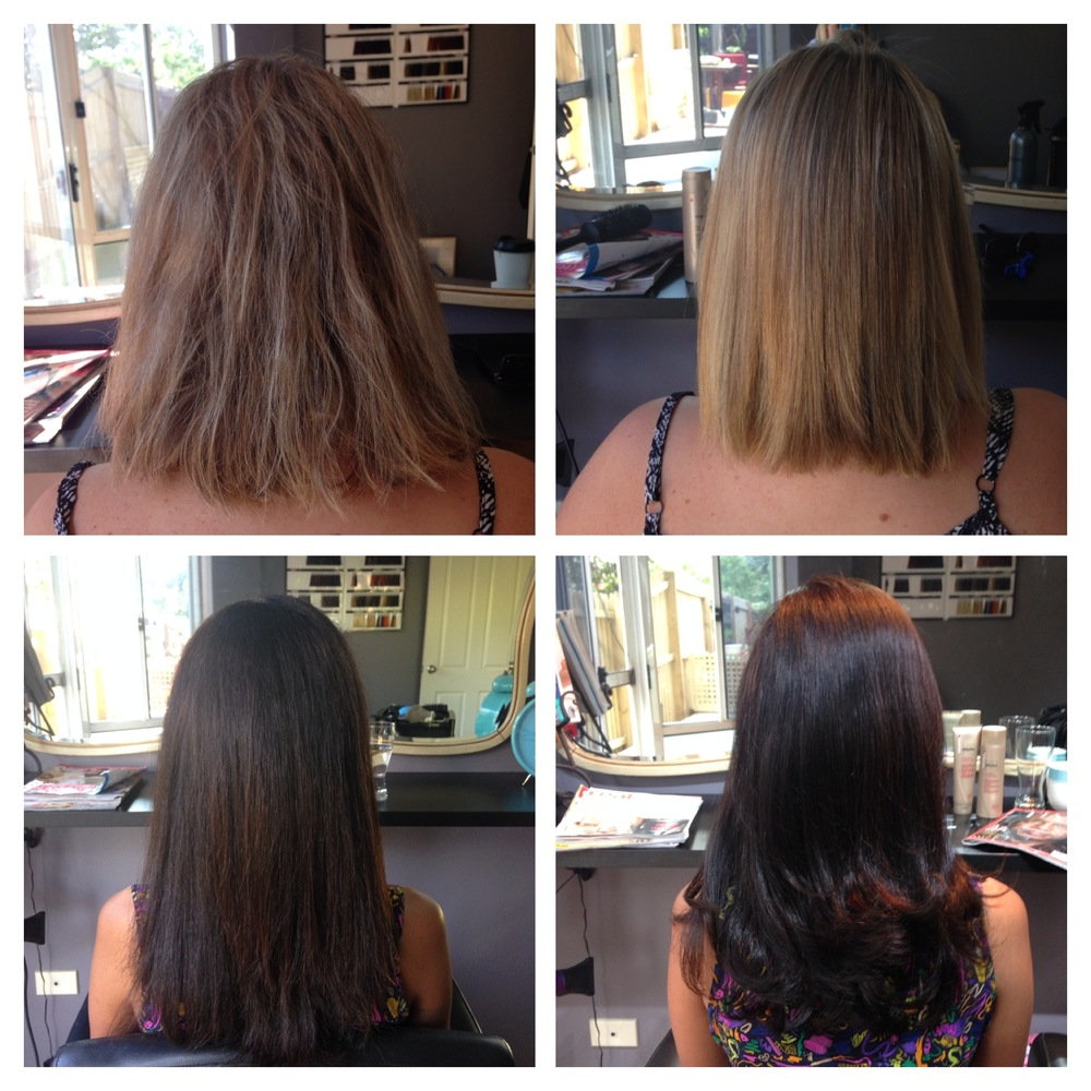 Keratin Smoothing Treatment results