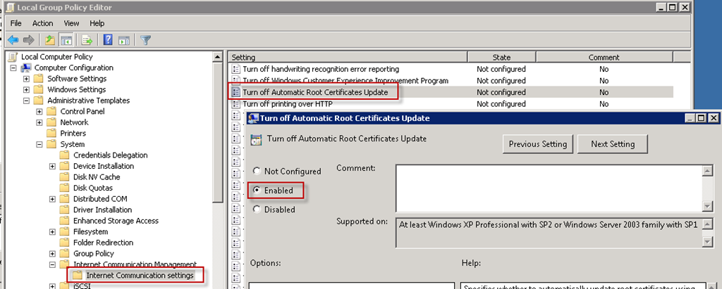 Fixing VeriSign Certificates on Windows Servers — Confused Amused