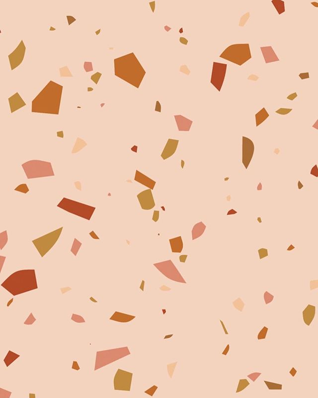 🤤🤤🤤 a bit of Terrazzo just in time for #styledyou Italy!! Authentic Italian Terrazzo tiles are currently my inspiration as we get ready to create pieces for @styledyou_ #Italy later this month!😍 decided to teach myself how to make a terrazzo pattern in Illustrator and now I'm obsessed✨ head to our stories to see a few other variations! #happymonday . . . . #calligraphy #handlettering #seekpaperco #lettering #dailydoseofpaper #calligrapher #stationer #design #thatsdarling #moderncalligraphy #stationery #thedailytype #illustration #artist #thedailywedding #graphicdesign #weddingstationery #papergoods #fortheloveofpaper #summer  #makersmovement #Terrazzolove #handcrafted #portland #workshop #communityovercompetition #pnw