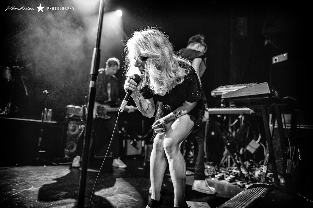 The Sounds at Irving Plaza NYC, 11.23.16. ©Rebecca Perry