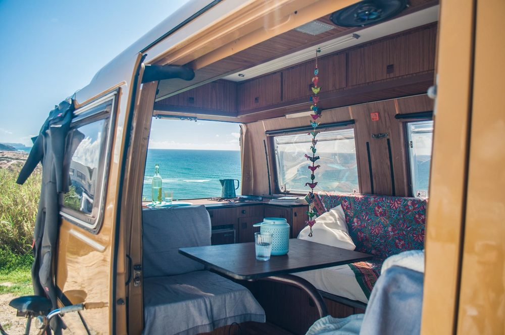 80er camping bus mieten in portugal pura vida campers. Black Bedroom Furniture Sets. Home Design Ideas