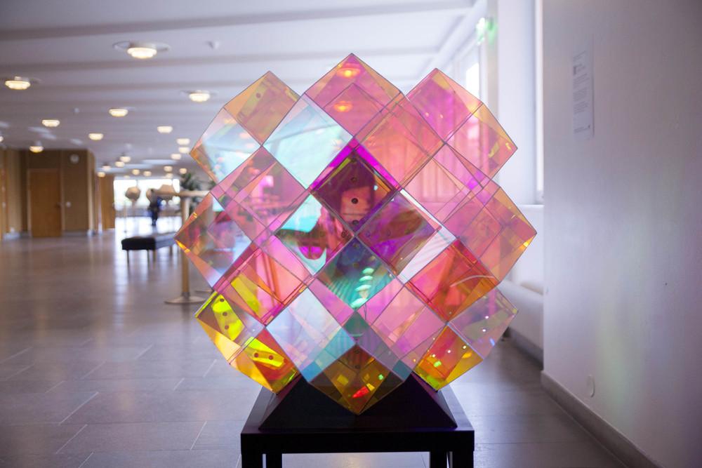 Rhombic Dodecacube / photo: Mikko Raskinen