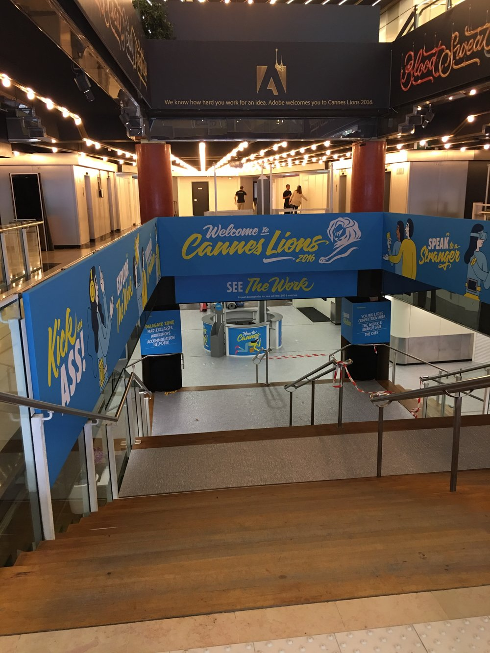 Cannes Lions Hallway