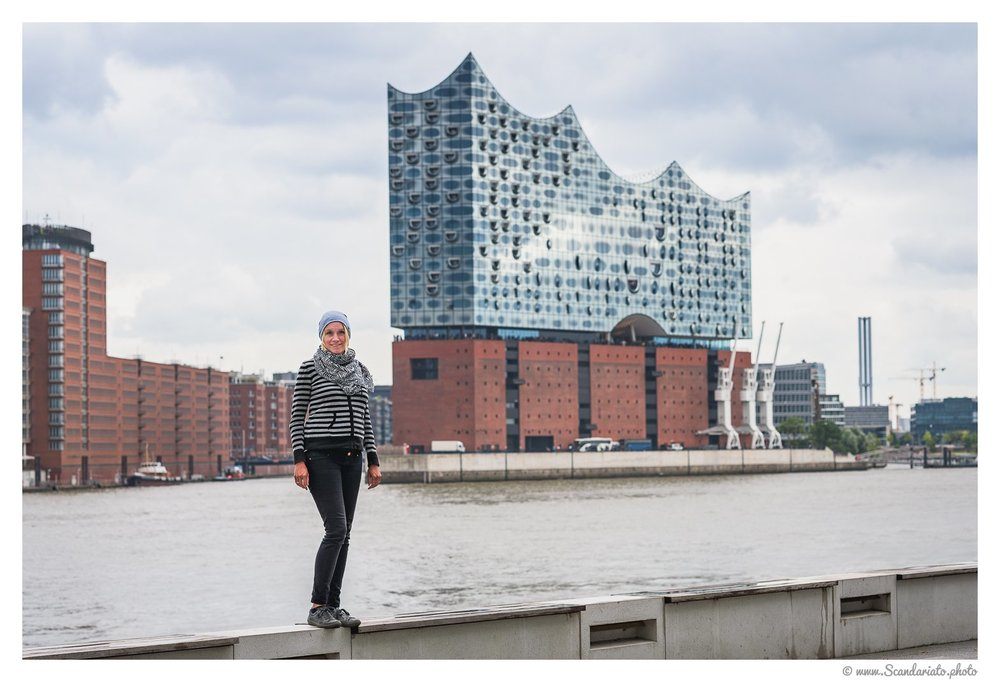 Elbphilharmonie. 85mm on full-frame. 1/500 sec, f/5.6, ISO 100