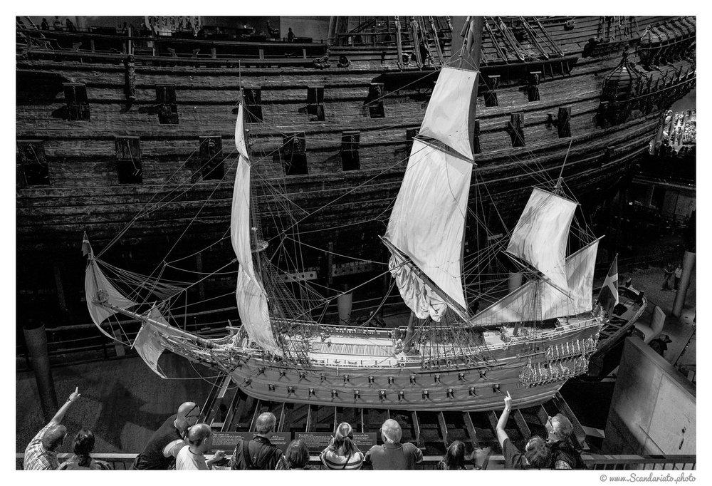 Vasa museum. 24mm on full frame. 1/50 sec, f/5.6, ISO 6400
