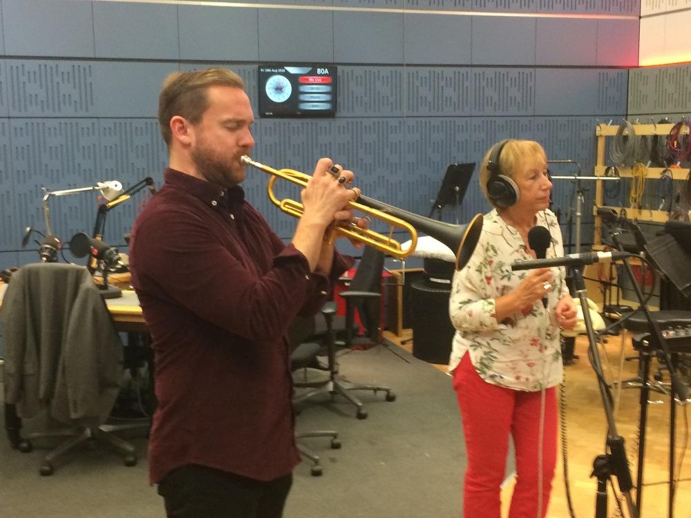 Quentin Collins & Norma Winstone live on BBC Radio
