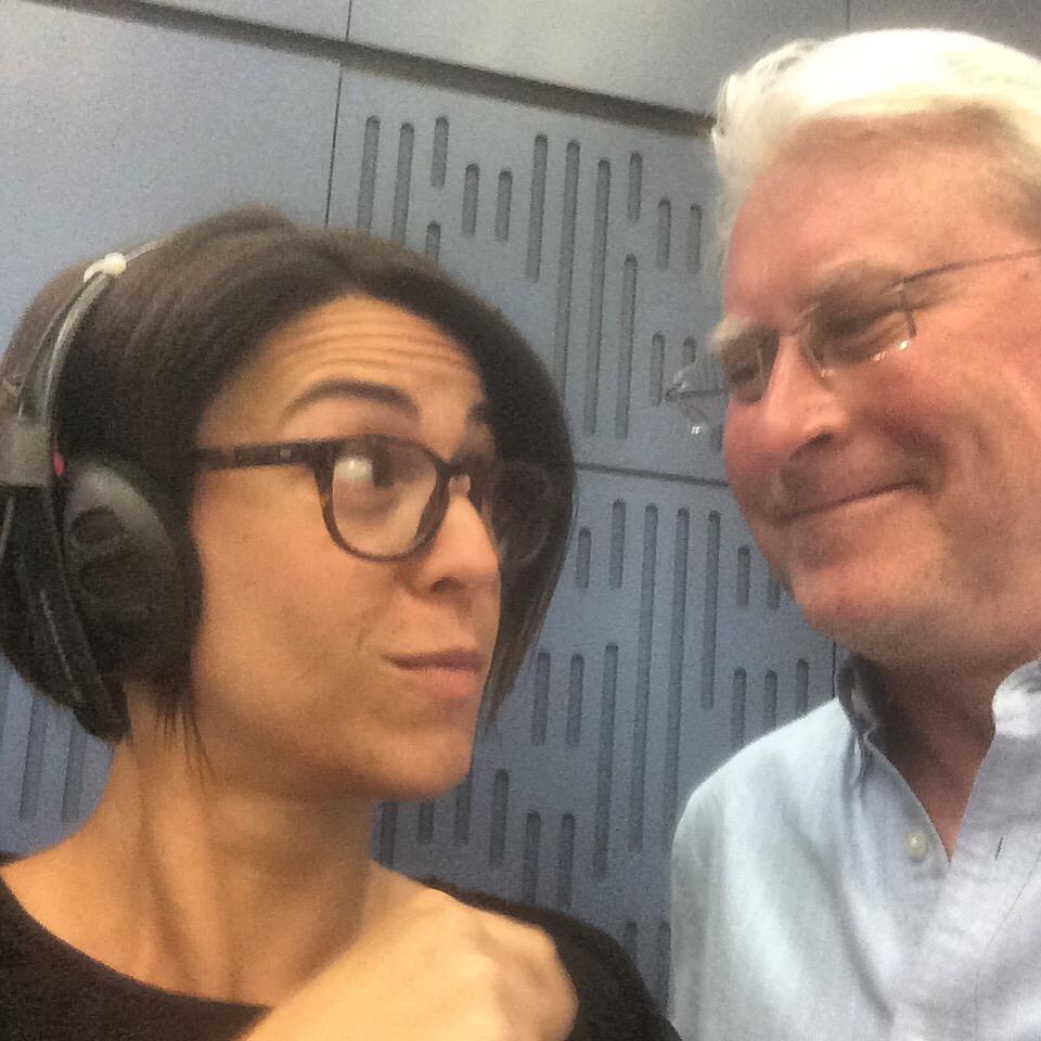 BBC's Suzy Klein and Martin Hummel, Director of Ubuntu Management Group