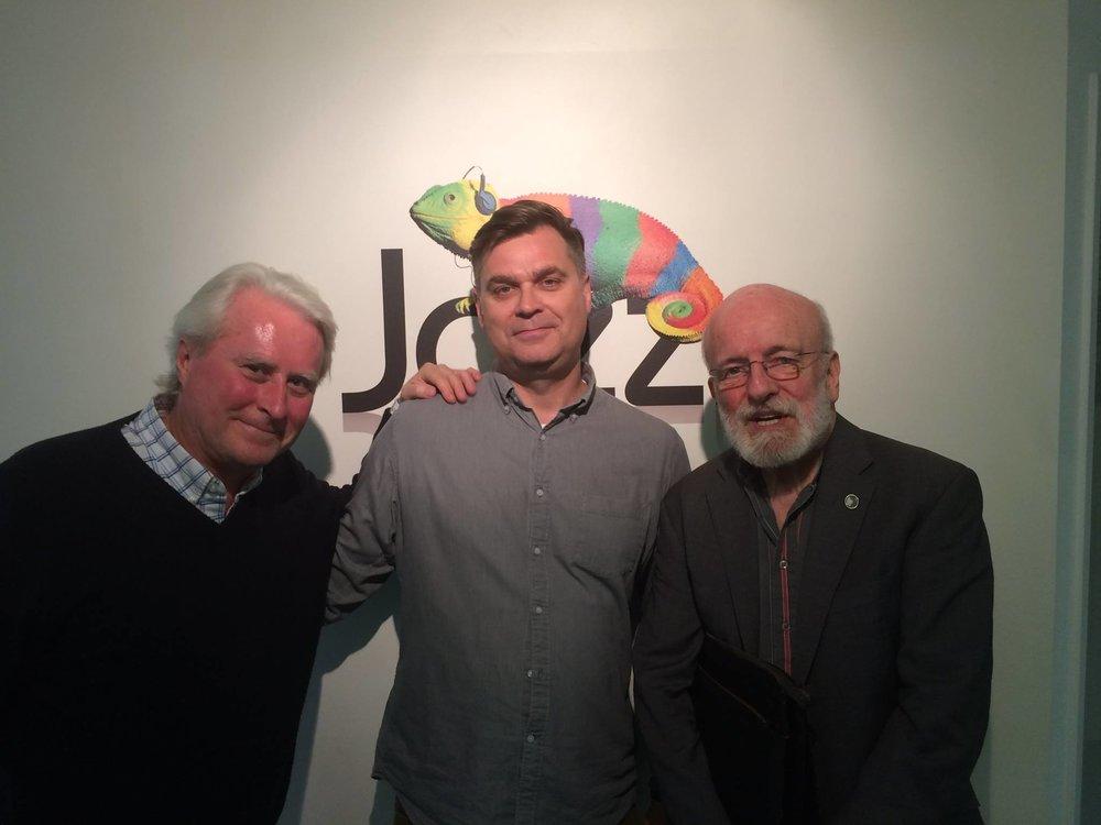 Martin Hummel, Ubuntu Management Group/Chris Philips, Jazz FM/Jim Richardson, Double Bassist