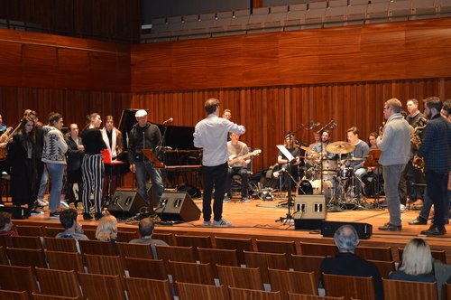 Andrew McCormack leads the Masterclass at Guildhall School of Music & Drama