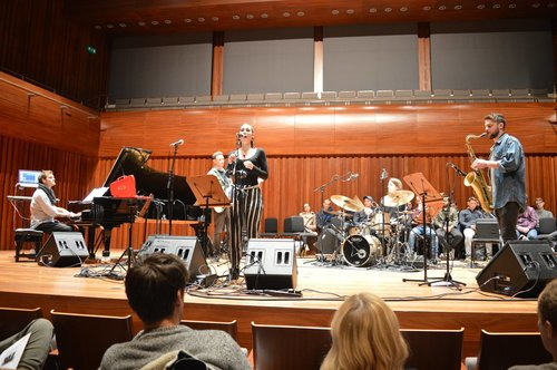 Noemi Nuti performs at the Masterclass