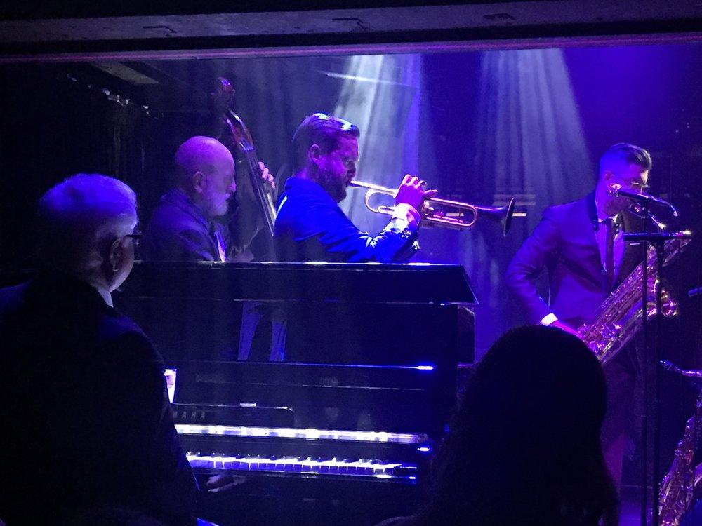 Left to Right: John Horler, Jim Richardson, Quentin Collins, Leo Richardson, Tony Mann