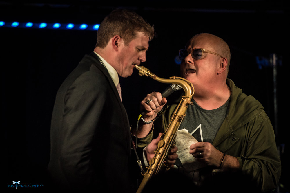 Eric Alexander and very special surprise guest Ian Shaw